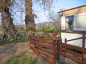 the static holiday caravan nr conwy