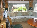 static holiday caravan in snowdonia
